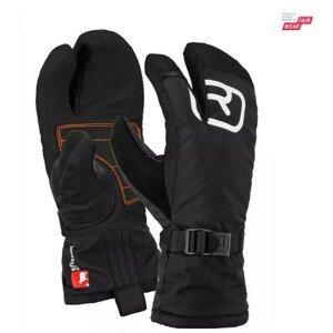 Rukavice Ortovox Pro Lobster Glove Velikost rukavic: M / Barva: černá