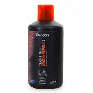Impregnace Granger's Wash + Repel Clothing 2 in 1 1L Barva: černá