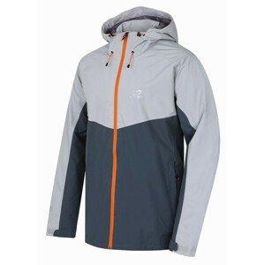 Pánská bunda Hannah Felder II M Velikost: XL / Barva: šedá/oranžová