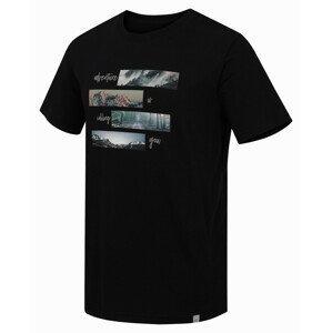 Pánské tričko Hannah Mingar M Velikost: M / Barva: černá