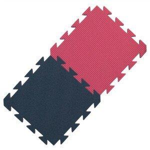 Pěnový koberec Yate 29 x 29 x 1,2 cm Barva: modrá/růžová