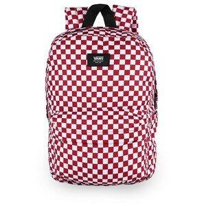 Batoh Vans MN Old Skool Check Backpack Barva: červená/bílá