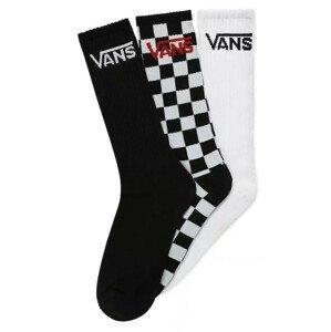 Ponožky Vans MN Classic Crew 6,5-9 3Pk Barva: černá/bílá