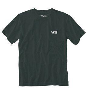 Pánské triko Vans MN Left Chest Logo Tee Velikost: M / Barva: zelená