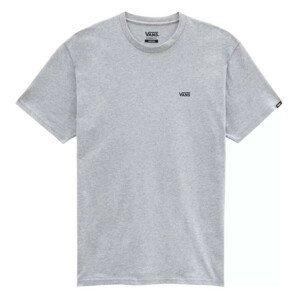 Pánské triko Vans MN Left Chest Logo Tee Velikost: M / Barva: šedá