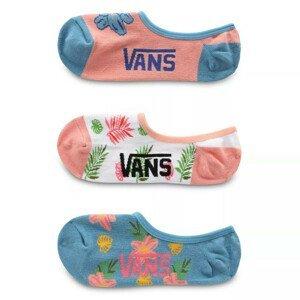 Dámské ponožky Vans Wm Garden Variety Canoodles 1-6 3Pk Velikost ponožek: UNI / Barva: modrá/růžová