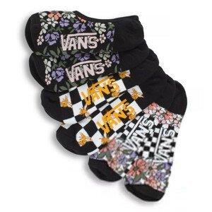 Dámské ponožky Vans Wm Garden Variety Canoodles 6.5-10 3Pk Barva: černá/bílá