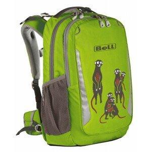 Školní batoh Boll School Mate 20 Meerkats Barva: světle zelená