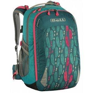 Školní batoh Boll Smart 24 Feathers Barva: tyrkysová