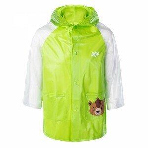 Dětská pláštěnka Bejo Cozy Raincoat Kids Velikost: 122-128 / Barva: zelená