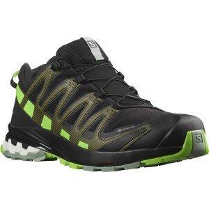 Pánské běžecké boty Salomon Xa Pro 3D V8 Gore-Tex Velikost bot (EU): 46 (2/3) / Barva: černá/zelená