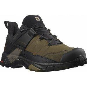 Pánské boty Salomon X Ultra 4 Leather Gore-Tex Velikost bot (EU): 44 (2/3) / Barva: hnědá