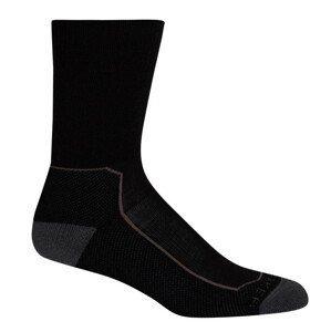 Dámské ponožky Icebreaker W's Hike+ Medium Crew Velikost ponožek: 35-37 / Barva: černá