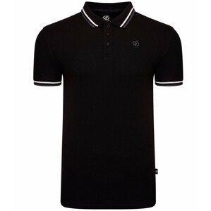 Pánské triko Dare 2b Precise Polo Velikost: M / Barva: černá