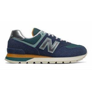 Pánské boty New Balance ML574DHL Velikost bot (EU): 45 / Barva: modrá/zelená