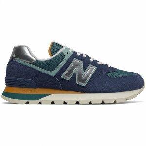 Pánské boty New Balance ML574DHL Velikost bot (EU): 45,5 / Barva: modrá/zelená