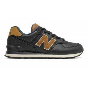 Pánské boty New Balance ML574OMD Velikost bot (EU): 45,5 / Barva: černá