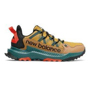 Pánské běžecké boty New Balance MTSHACY1 Velikost bot (EU): 44,5 / Barva: zelená/hnědá