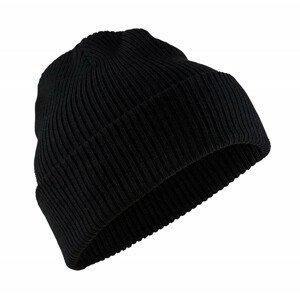Čepice Craft Core Rib Knit Barva: černá