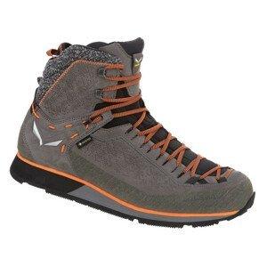 Pánské boty Salewa Ms Mtn Trainer 2 Winter Gtx Velikost bot (EU): 44,5 / Barva: šedá/oranžová