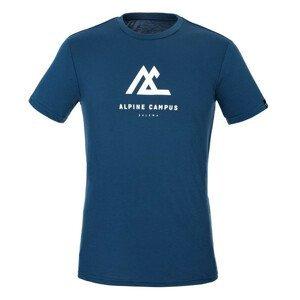 Pánské triko Salewa Alpine Campus Dry M T-Srt. Velikost: L / Barva: tmavě modrá