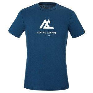 Pánské triko Salewa Alpine Campus Dry M T-Srt. Velikost: XXL / Barva: tmavě modrá