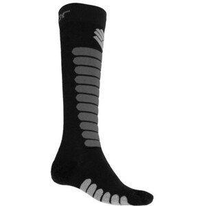 Ponožky Sensor Zero Merino Velikost ponožek: 39-42 / Barva: černá/šedá