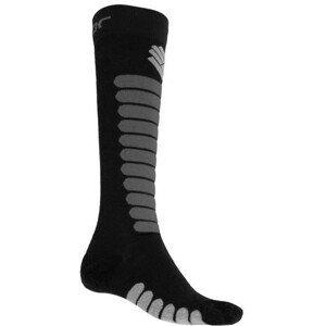 Ponožky Sensor Zero Merino Velikost ponožek: 35-38 / Barva: černá/šedá