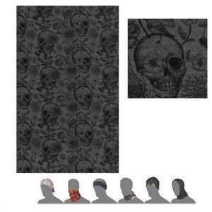 Šátek Sensor Tube Merino Impress Barva: šedá