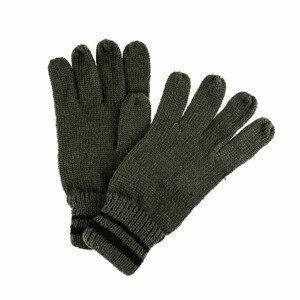 Rukavice Regatta Balton Glove II Velikost rukavic: S/M / Barva: zelená