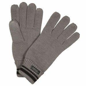 Rukavice Regatta Balton Glove II Velikost rukavic: S/M / Barva: šedá