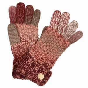Rukavice Regatta Frosty Glove V Velikost rukavic: S/M / Barva: červená