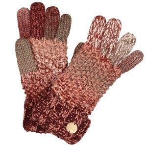 Rukavice Regatta Frosty Glove V Velikost rukavic: L/XL / Barva: červená