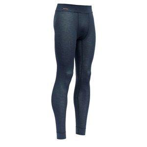 Pánské spodky Devold Wool Mesh Man Long Johns Velikost: XL / Barva: černá