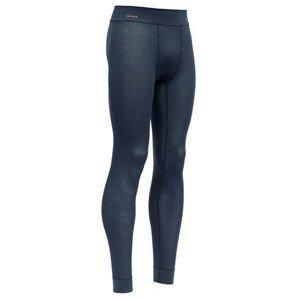 Pánské spodky Devold Wool Mesh Man Long Johns Velikost: XXL / Barva: černá