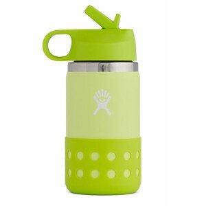 Dětská lahev Hydro Flask Kids Wide Mouth 12 oz Straw Lid/Boot Barva: žlutá