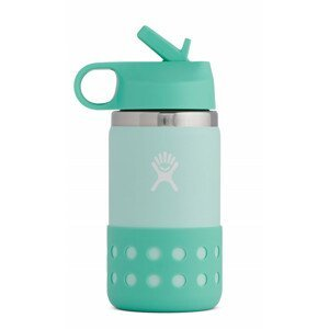 Dětská lahev Hydro Flask Kids Wide Mouth 12 oz Straw Lid/Boot Barva: tyrkysová