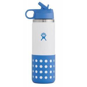 Dětská lahev Hydro Flask Kids Wide Mouth 20 oz Straw Lid/Boot Barva: modrá
