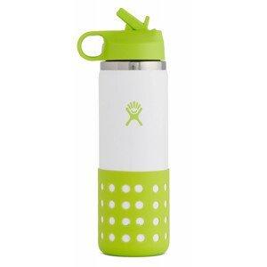 Dětská lahev Hydro Flask Kids Wide Mouth 20 oz Straw Lid/Boot Barva: žlutá