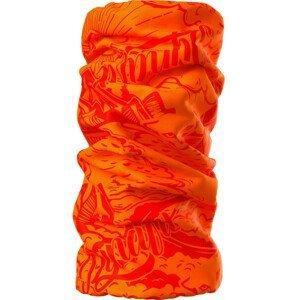 Nákrčník Dynafit Logo Neck Gaiter Barva: oranžová