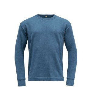 Pánská funkční mikina Devold Nibba Man Sweater Velikost: XXL / Barva: modrá