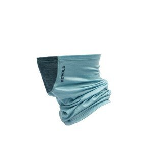 Nákrčník Devold Running Headover W/Reflex Barva: světle modrá