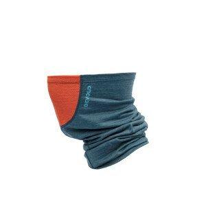 Nákrčník Devold Running Headover W/Reflex Barva: modrá/oranžová