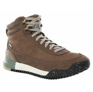 Dámské boty The North Face Back-To-Berkeley III Leather Wp Velikost bot (EU): 38,5 / Barva: hnědá