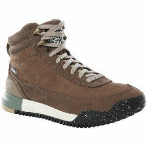 Dámské boty The North Face Back-To-Berkeley III Leather Wp Velikost bot (EU): 40,5 / Barva: hnědá