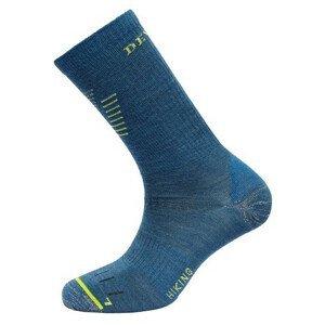 Ponožky Devold Hiking Light Sock Velikost ponožek: 41-43 / Barva: modrá