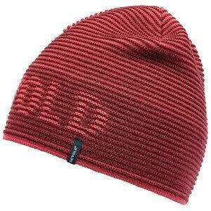 Čepice Devold Rib Logo Beanie Barva: červená