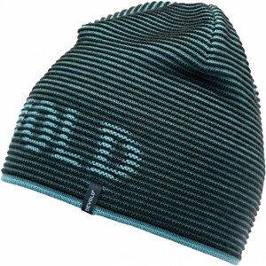 Čepice Devold Rib Logo Beanie Barva: modrá