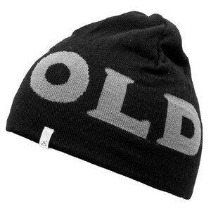 Čepice Devold Devold Logo Beanie Barva: černá/bílá