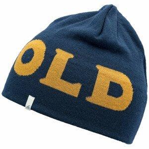 Čepice Devold Devold Logo Beanie Barva: modrá/žlutá